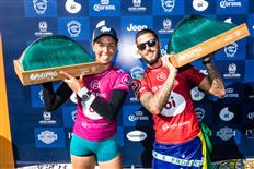 Sally Fitzgibbons and Filipe Toledo Claim Victory at 2019 Oi Rio Pro