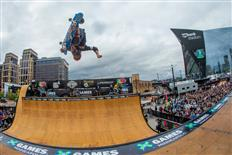 Moto Shibata Takes First Gold in Skateboard Vert on day 1 of X Games Minneapolis 2017