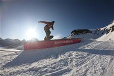 SKYLINE SNOWPARK Schilthorn – THE ACTION GUARANTEE IS BACK