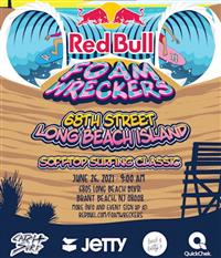 Red Bull Foam Wreckers - Long Beach Island 2021