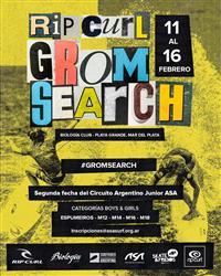 Rip Curl GromSearch - Mar del Plata 2020