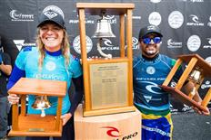 Stephanie Gilmore and Italo Ferreira Win Rip Curl Pro Bells Beach