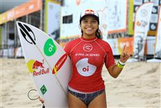Tainá Hinckel wins her 2nd Pro Junior & Piccolo Clemente his 4th Longboard WSL Latin America Title