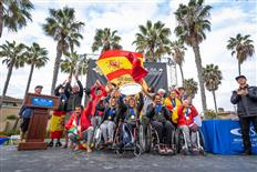 Team Spain's historic victory at 2020 AmpSurf ISA World Para Surfing Championship