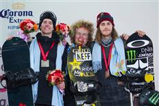 The Slopestyle World Champion Titles go to Brandon Davis and Jamie Anderson