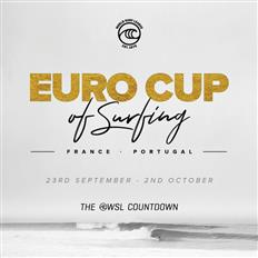 The WSL Countdown Continues with the Euro Cup of Surfing in September