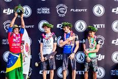 Wiggolly Dantas Becomes First Brazilian to WinVolcom Pipe Pro