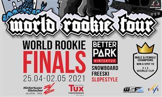 2021 World Rookie Snowboard & Freeski Finals: Registrations are open!