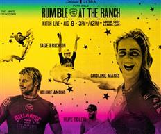WSL Announces Return to Live Competition with Michelob ULTRA Pure Gold Rumble at the Ranch