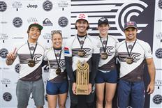 World Team Wins Historic WSL Founders' Cup of Surfing