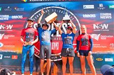 Yago Dora & Johanne Defay victorious at Newcastle Surfest